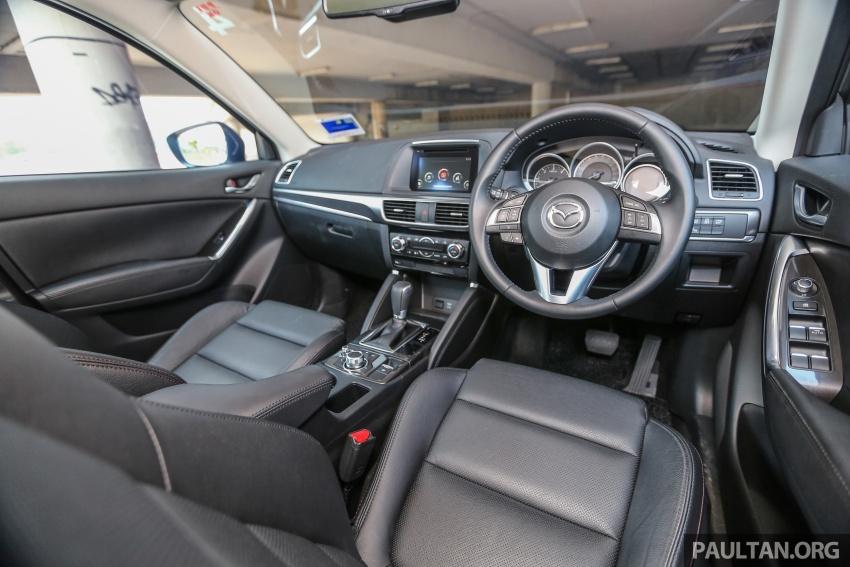 PANDU UJI: Mazda CX-5 2.2L SkyActiv-D – paradigma baharu teknologi diesel untuk kenderaan penumpang Image #536953