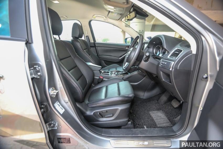 PANDU UJI: Mazda CX-5 2.2L SkyActiv-D – paradigma baharu teknologi diesel untuk kenderaan penumpang Image #536949
