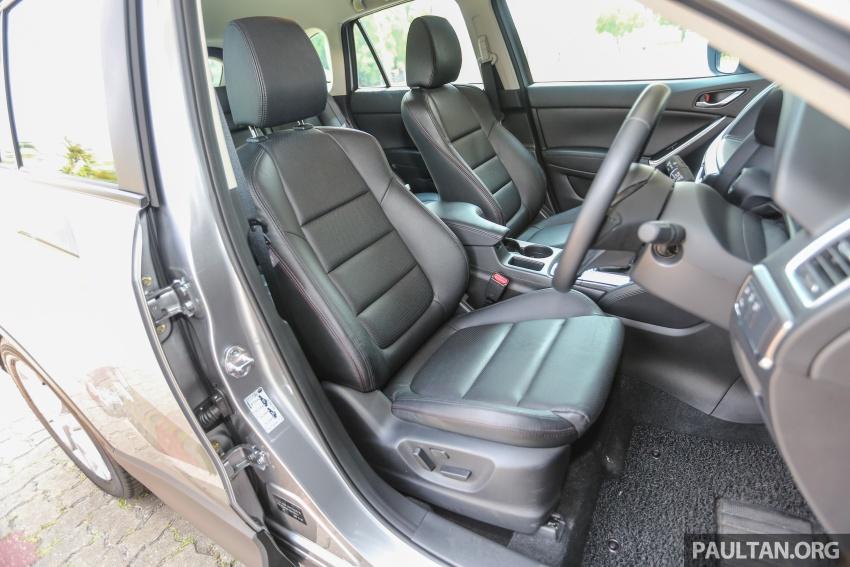PANDU UJI: Mazda CX-5 2.2L SkyActiv-D – paradigma baharu teknologi diesel untuk kenderaan penumpang Image #536947