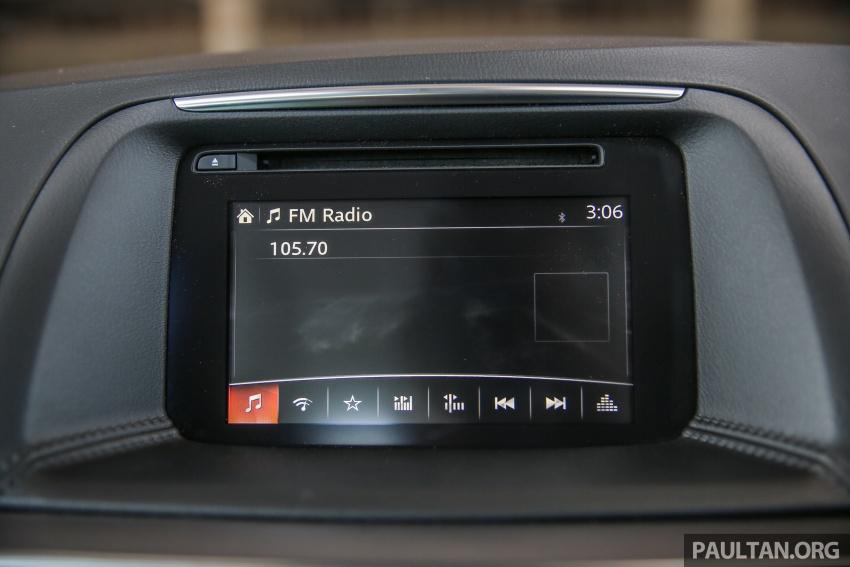 PANDU UJI: Mazda CX-5 2.2L SkyActiv-D – paradigma baharu teknologi diesel untuk kenderaan penumpang Image #536929