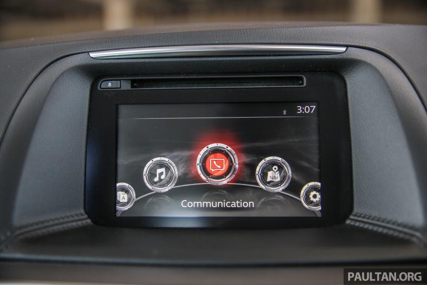 PANDU UJI: Mazda CX-5 2.2L SkyActiv-D – paradigma baharu teknologi diesel untuk kenderaan penumpang Image #536924