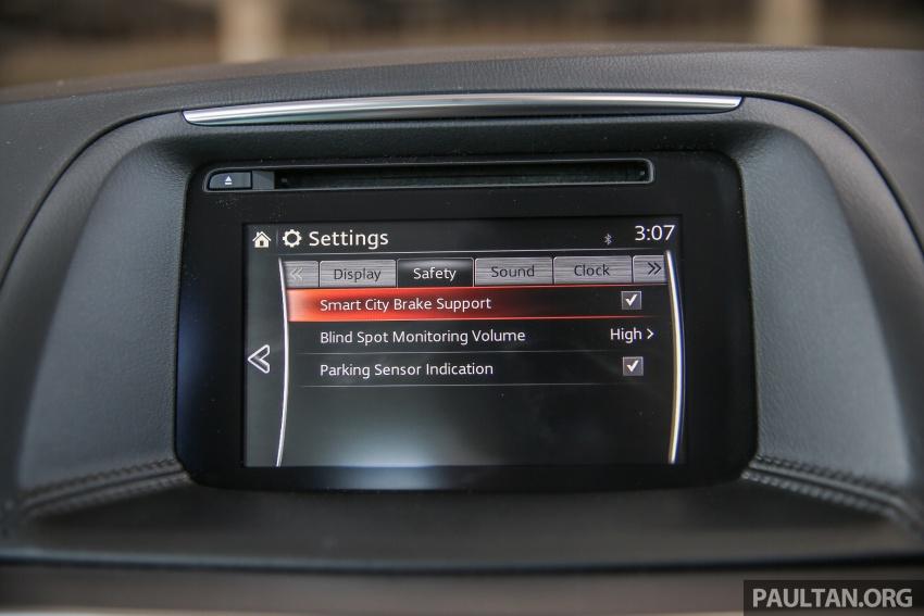 PANDU UJI: Mazda CX-5 2.2L SkyActiv-D – paradigma baharu teknologi diesel untuk kenderaan penumpang Image #536920