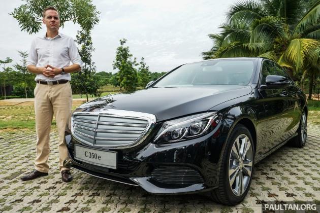 Mercedes-Benz C 350 e 1