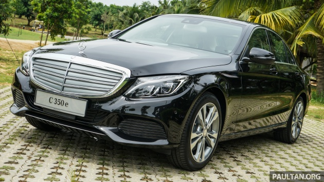 Mercedes Benz C350e Plug In Hybrid Rm299k Pricing To