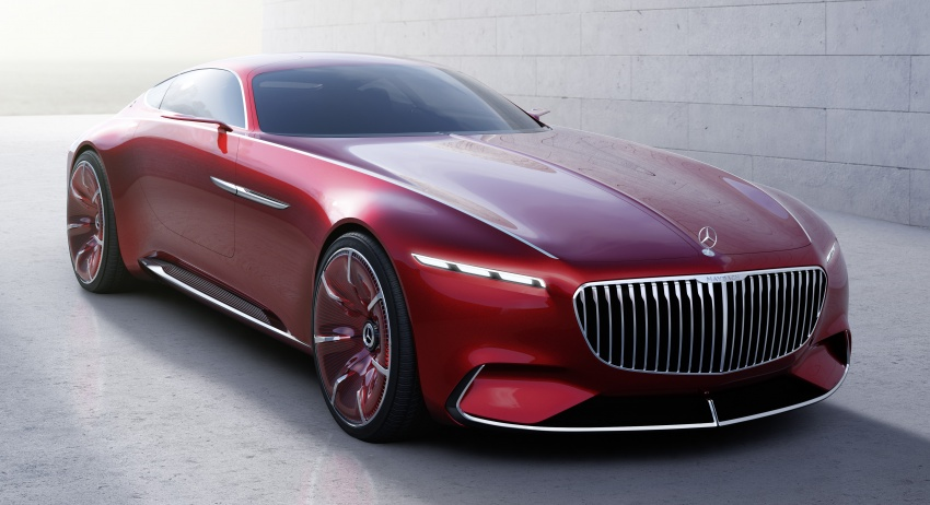 Vision Mercedes-Maybach 6 concept officially revealed Image #537282