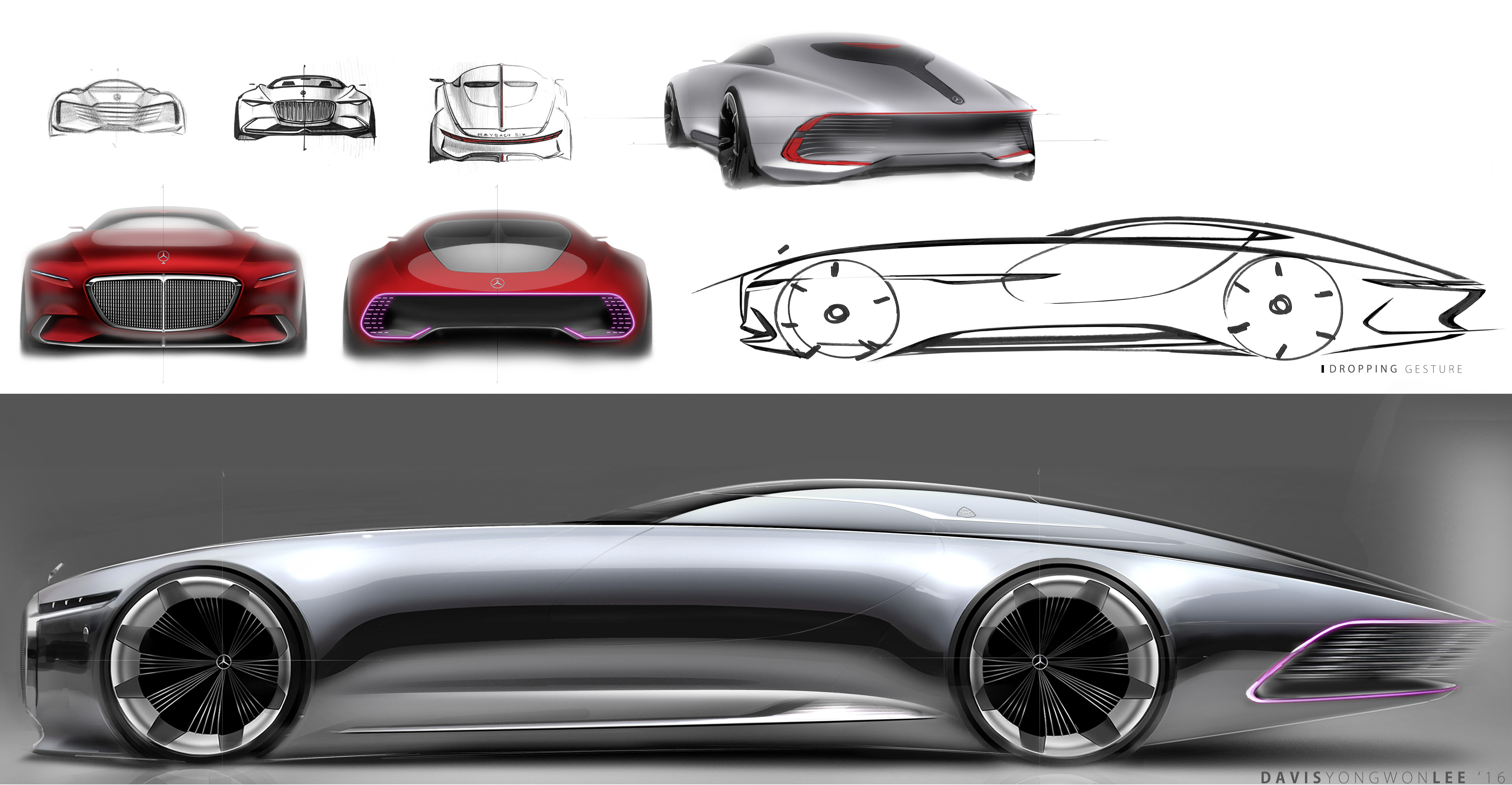 Vision Mercedes Maybach 6 Concept Officially Revealed