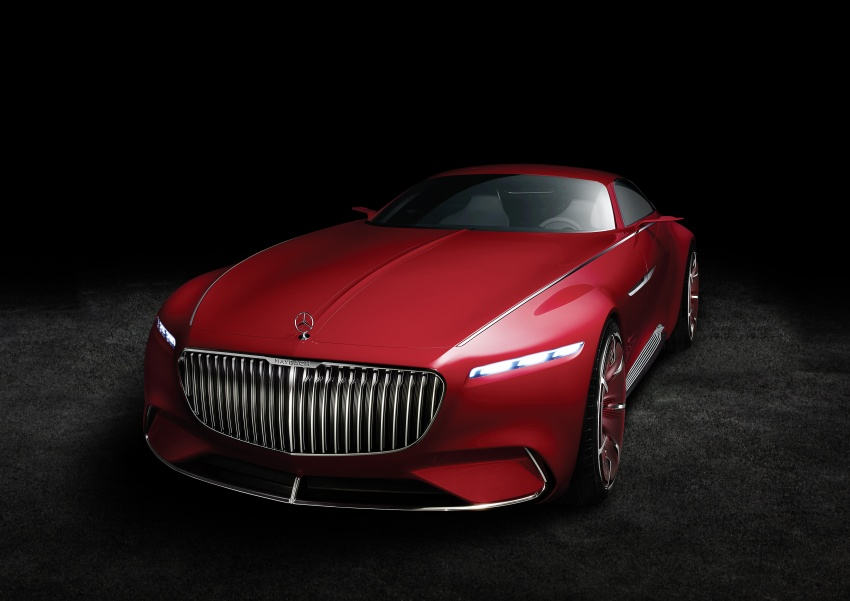 Vision Mercedes-Maybach 6 concept officially revealed Image #537294