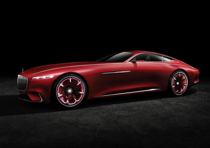 Vision Mercedes-Maybach 6 concept officially revealed Image #537295