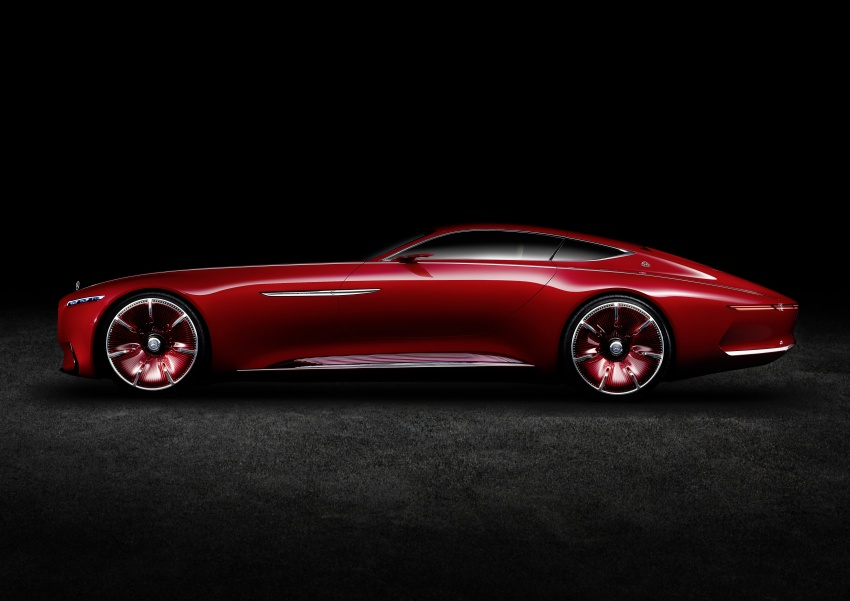 Vision Mercedes-Maybach 6 concept officially revealed Image #537296