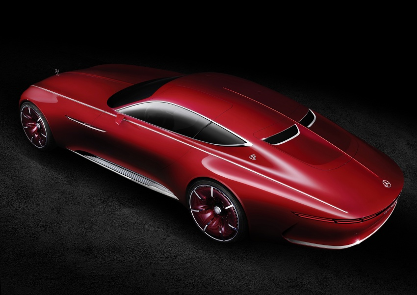 Vision Mercedes-Maybach 6 concept officially revealed Image #537297