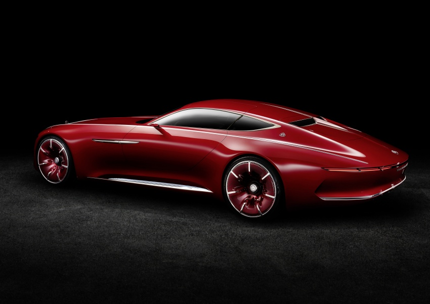 Vision Mercedes-Maybach 6 concept officially revealed Image #537298