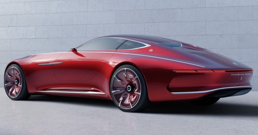 Vision Mercedes-Maybach 6 concept officially revealed Image #537283