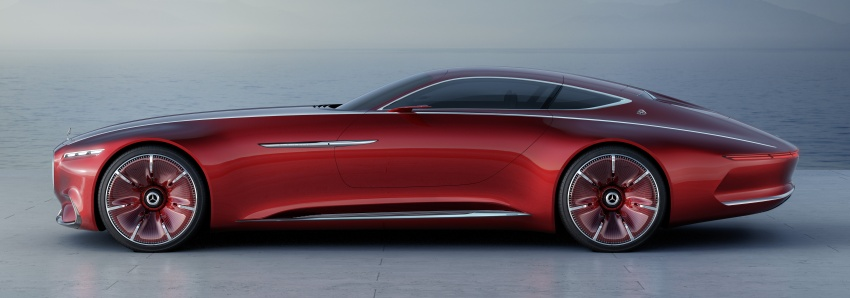 Vision Mercedes-Maybach 6 concept officially revealed Image #537284