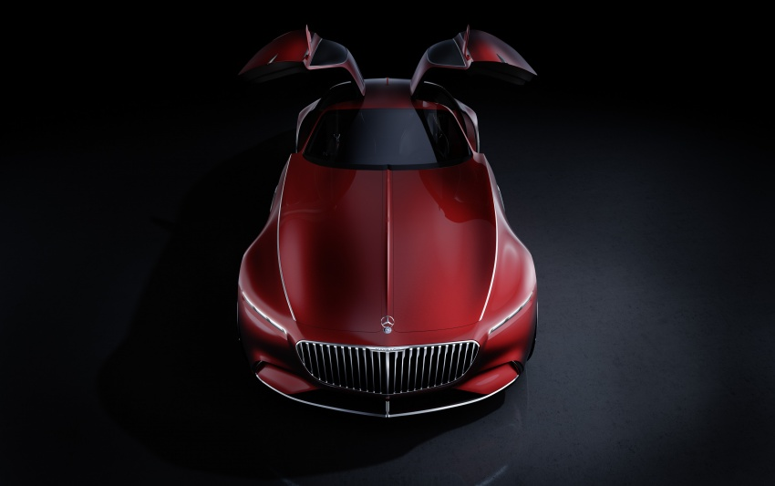 Vision Mercedes-Maybach 6 concept officially revealed Image #537285