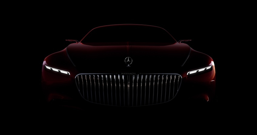 Vision Mercedes-Maybach 6 concept officially revealed Image #537286