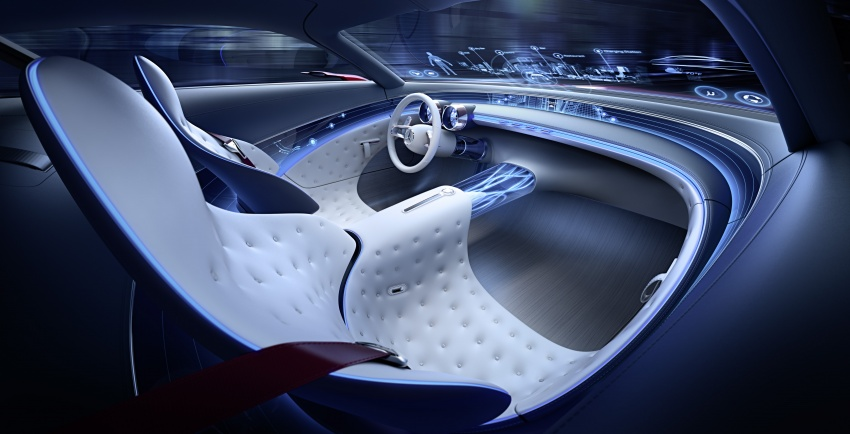 Vision Mercedes-Maybach 6 concept officially revealed Image #537289