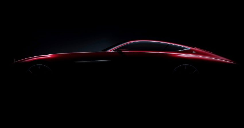 Mercedes reveals new Maybach coupe concept teaser Image #532622