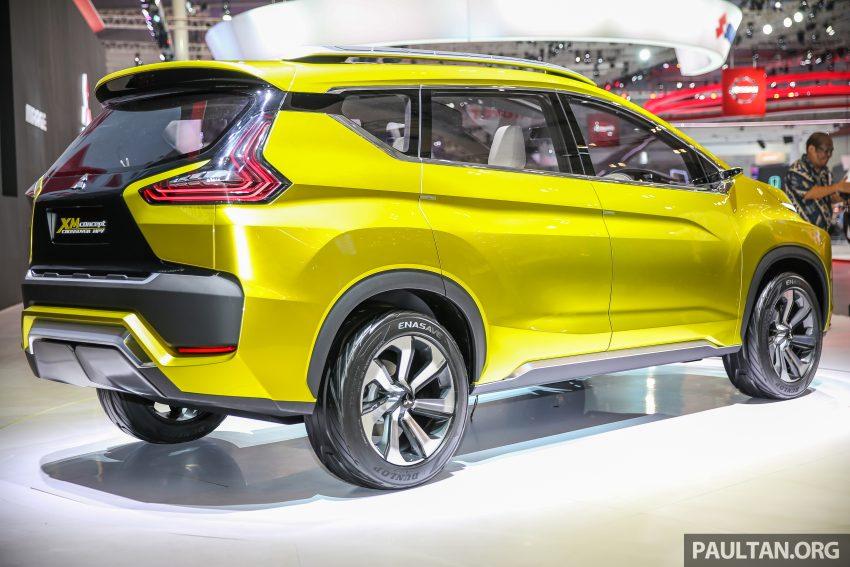 GIIAS 2016: Mitsubishi XM Concept makes world debut, low MPV to rival Avanza, Mobilio in ...