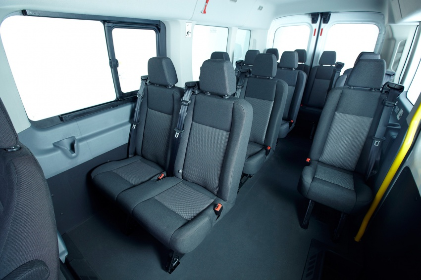 Ford Transit window van launched – 14-seat, RM149k Image #540020