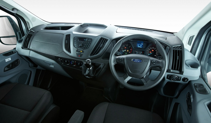 Ford Transit window van launched – 14-seat, RM149k Image #540021