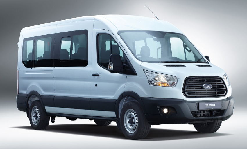 Ford Transit window van launched – 14-seat, RM149k Image #540023