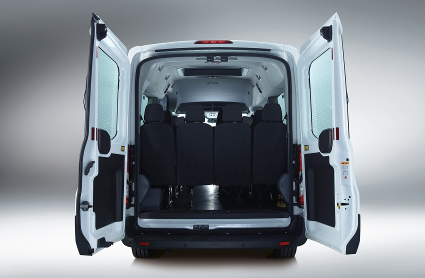 Ford Transit window van launched – 14-seat, RM149k Image #540024