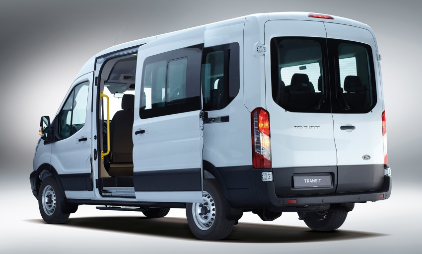 Ford Transit window van launched – 14-seat, RM149k Image #540025