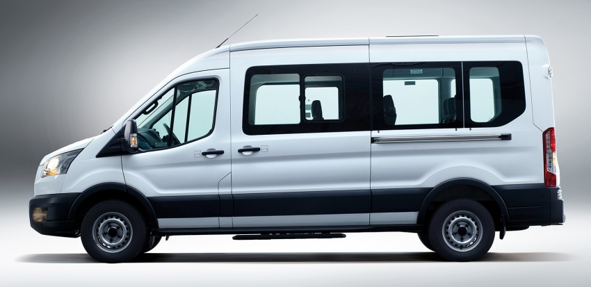 Ford Transit window van launched – 14-seat, RM149k Image #540026