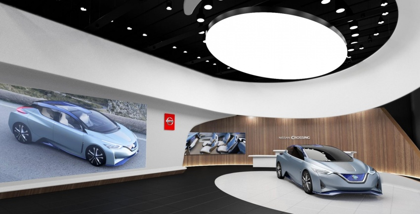 Nissan Crossing – a new space for intelligent mobility Image #541757