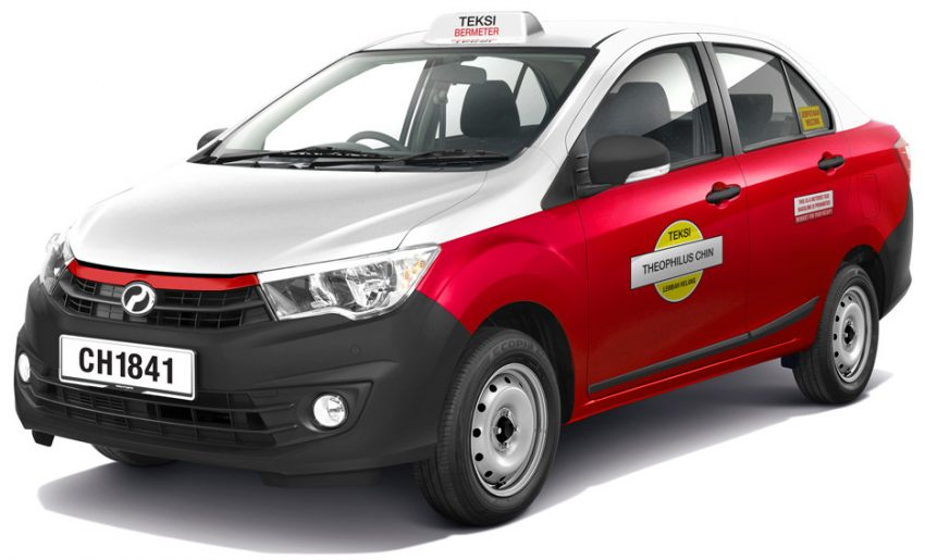 Perodua Bezza taxi rendered by Theophilus Chin Image #533647