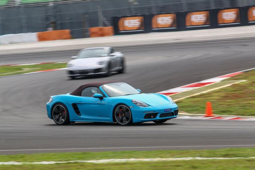 Porsche 718 Boxster dan 718 Boxster S – Pemanduan di litar yang menguji kemampuan mengendali kuasa Image #540814