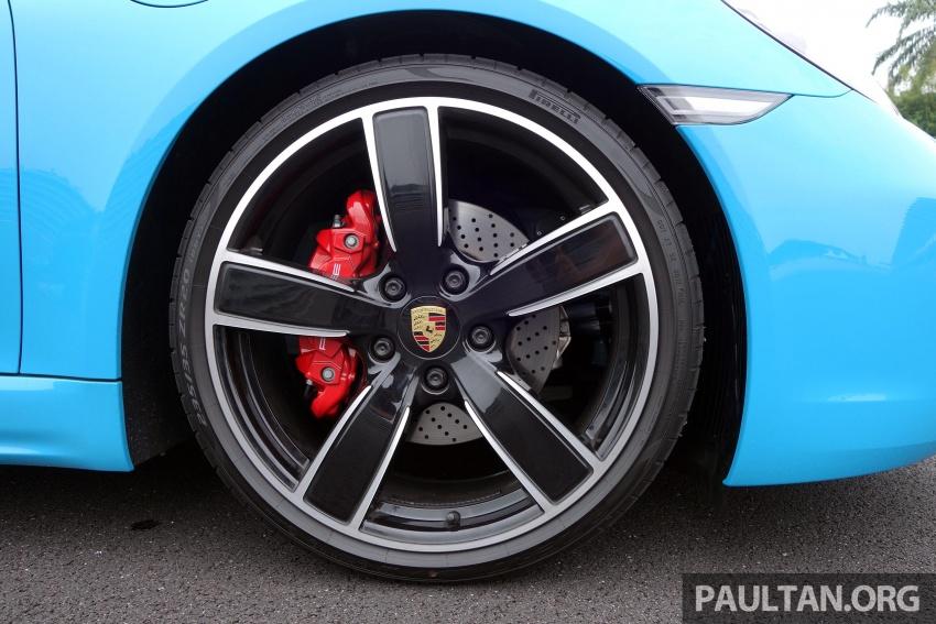 Porsche 718 Boxster dan 718 Boxster S – Pemanduan di litar yang menguji kemampuan mengendali kuasa Image #540819
