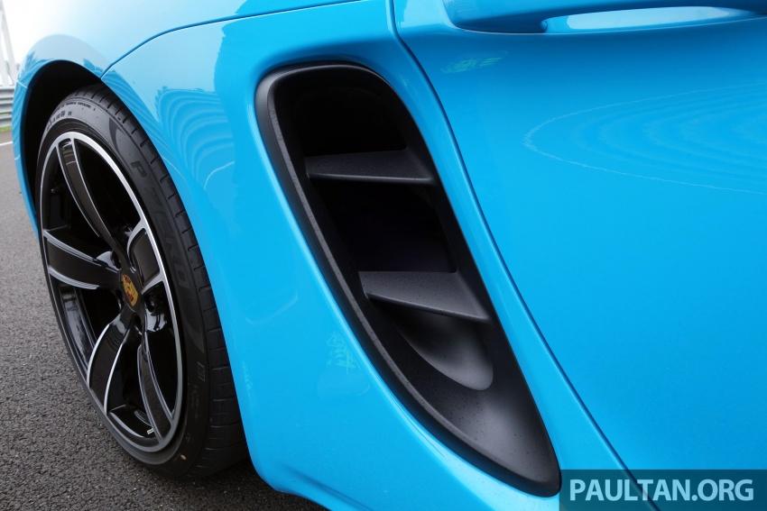 Porsche 718 Boxster dan 718 Boxster S – Pemanduan di litar yang menguji kemampuan mengendali kuasa Image #540820