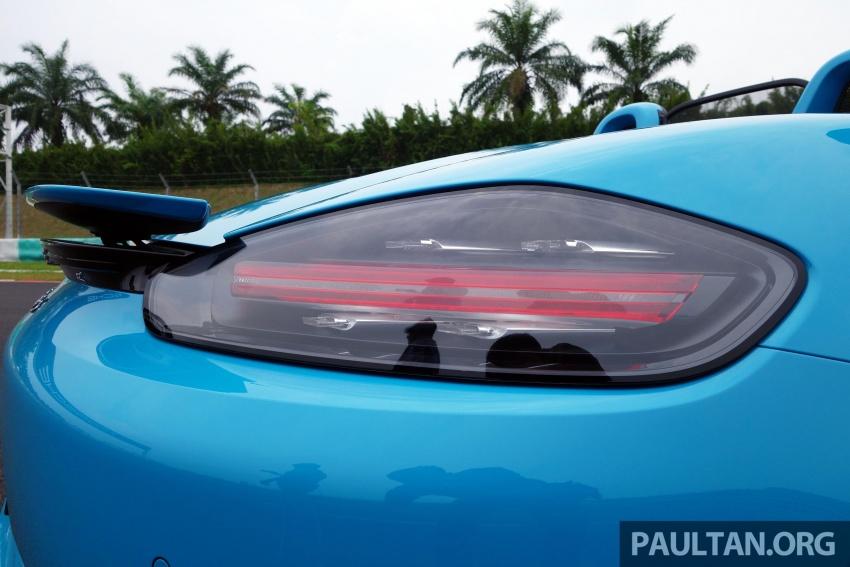 Porsche 718 Boxster dan 718 Boxster S – Pemanduan di litar yang menguji kemampuan mengendali kuasa Image #540821