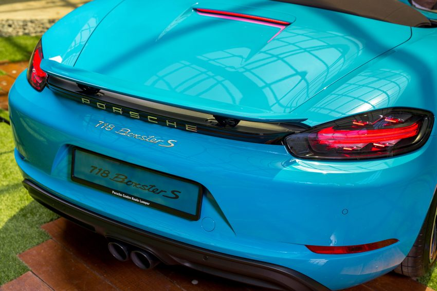 Porsche 718 Boxster launched in M'sia, from RM480k Image #528360