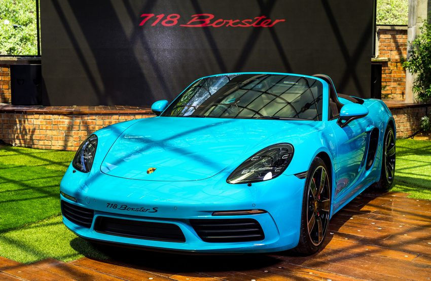Porsche 718 Boxster launched in M'sia, from RM480k Image #528362