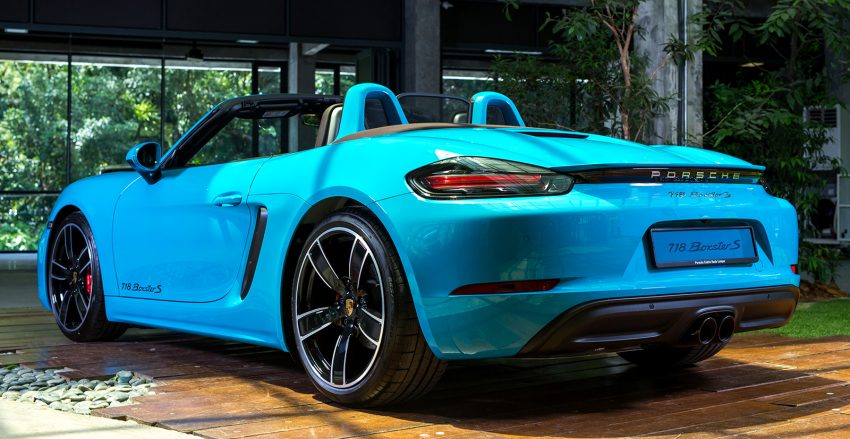 Porsche 718 Boxster launched in M'sia, from RM480k Image #528363