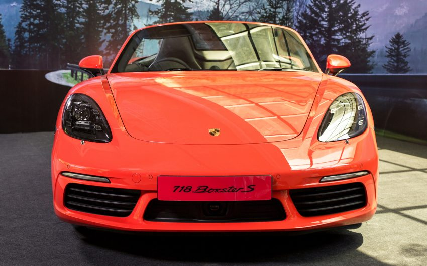 Porsche 718 Boxster launched in M'sia, from RM480k Image #528485
