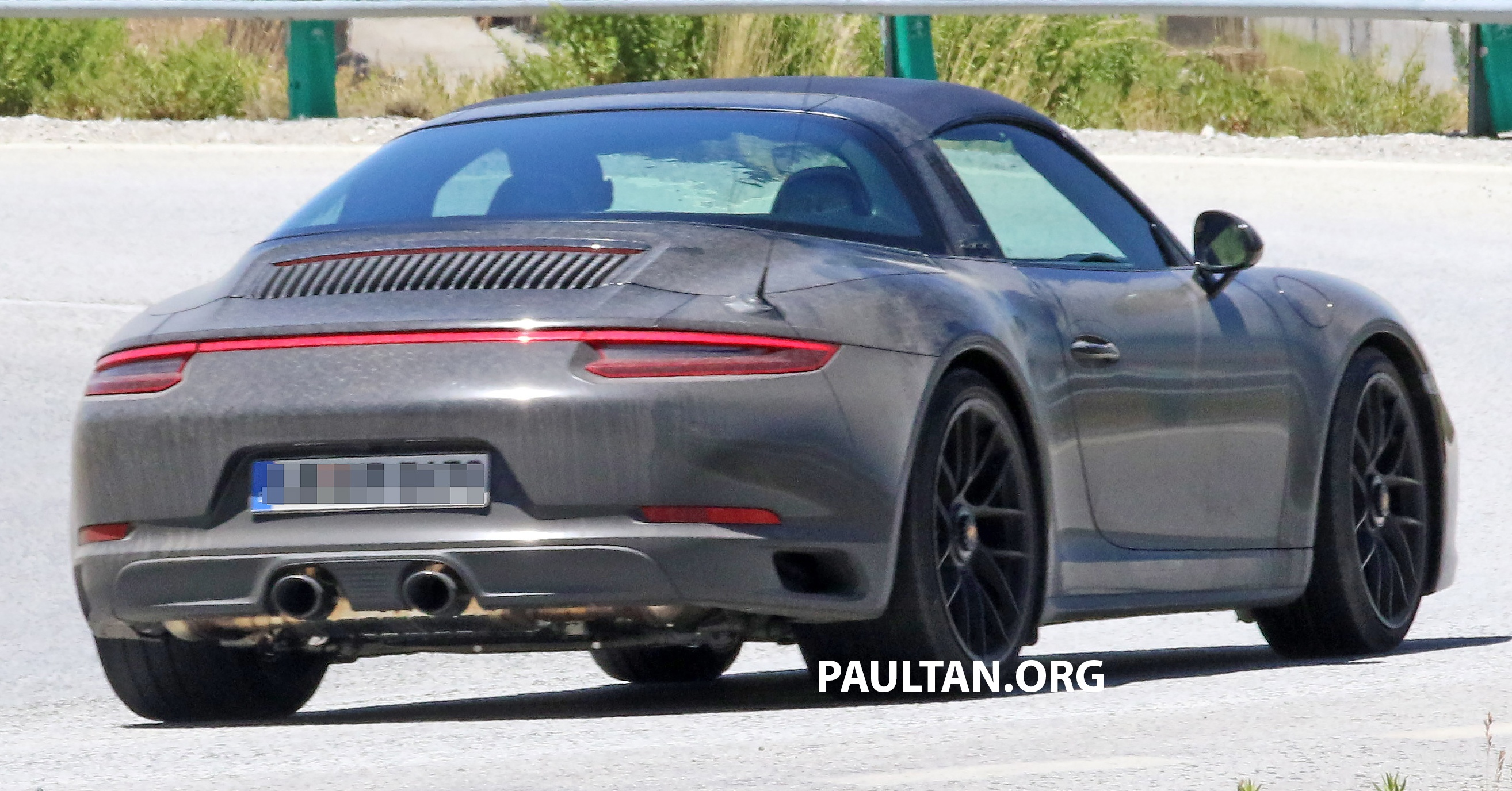Spyshots New Porsche 911 Targa Gts Seen Testing Paul Tan