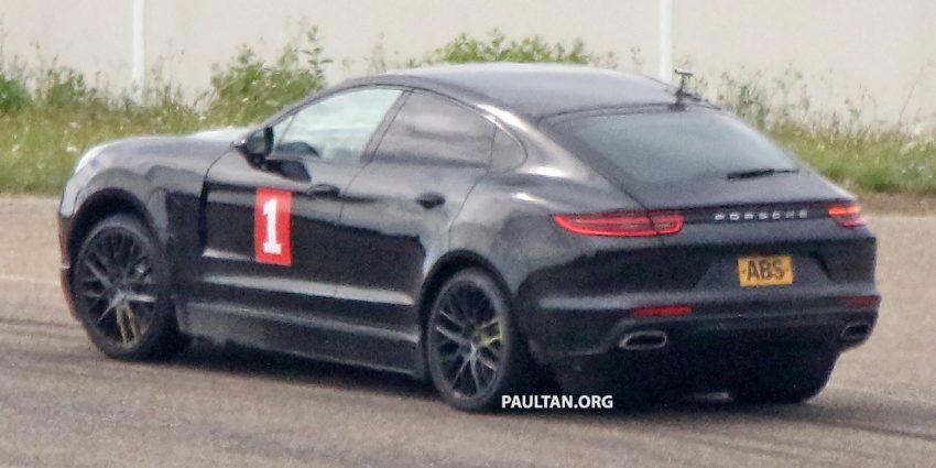 Spyshots Porsche Cayenne Coupe Spotted Testing Paul Tan