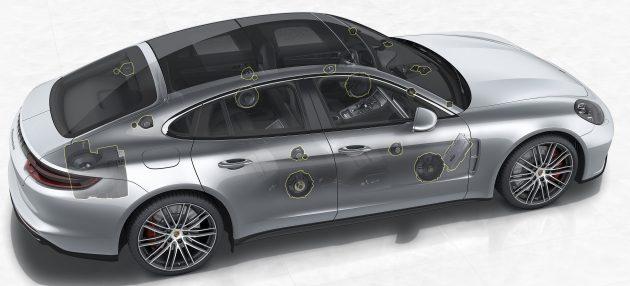 Porsche Panamera Burmester 1