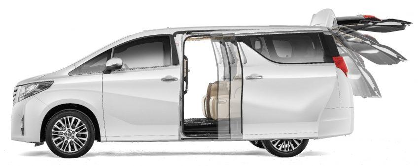 Toyota Alphard dan Vellfire 2016 dilancarkan di M'sia – RM420k-RM520k untuk Alphard, RM355k bagi Vellfire Image #529831