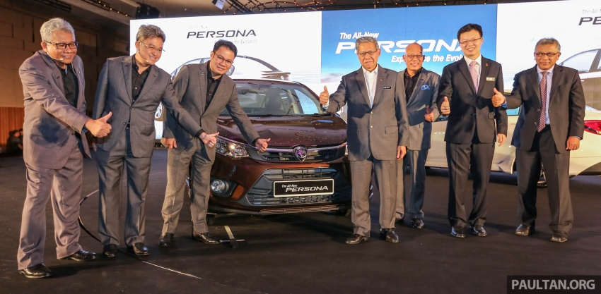 2016 Proton Persona officially launched, RM46k-60k Image #538905