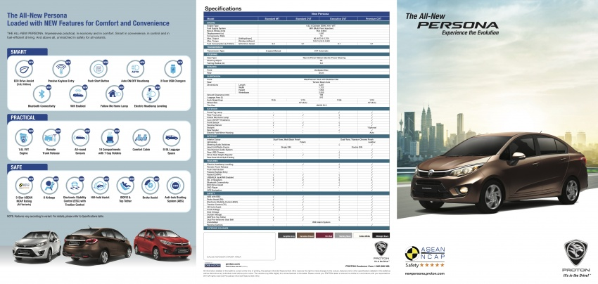 2016 Proton Persona officially launched, RM46k-60k Image #538811