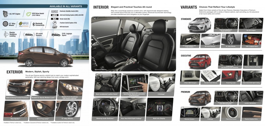 2016 Proton Persona officially launched, RM46k-60k Image #538813