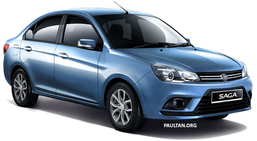 2016 Proton Saga gets rendered ahead of Sept launch Image #531145