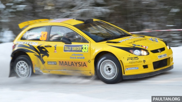 Proton Satria Neo S2000 2012 Rally Sweden 1