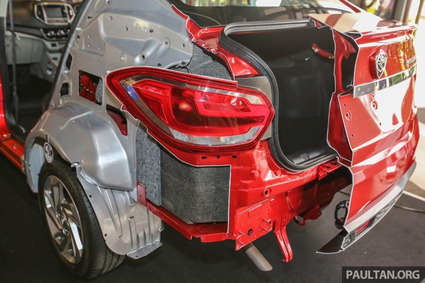 New Proton Persona 5-star ASEAN NCAP body cutout Image #539601