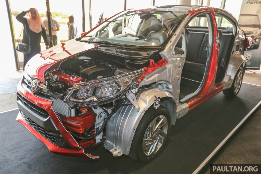 New Proton Persona 5-star ASEAN NCAP body cutout Image #539589