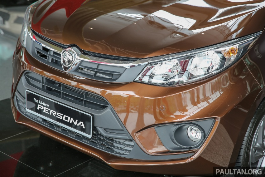 2016 Proton Persona officially launched, RM46k-60k Image #539841
